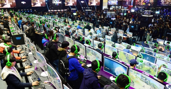 G-star, Korea's biggest game exhibition, held at Busan BEXCO on November 15, 2018.
